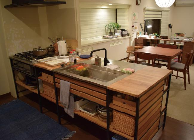 岩木亜希子が義母となる宮本家のキッチン