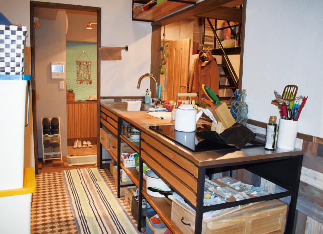 五十嵐家キッチン(フレームキッチン)
