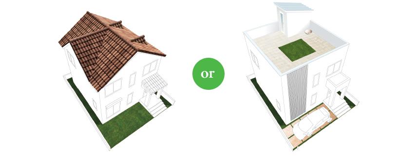 新しいライフスタイルのある、屋上リビングはいかがですか?