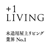 プラスワンリビング木造用屋上リビング業界No.1